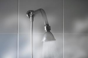 shower head steam